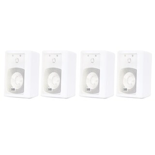 Acoustic Audio 151W Indoor Outdoor 2 Way Speakers 1200W 2 Pair Pack 151W-2Pr