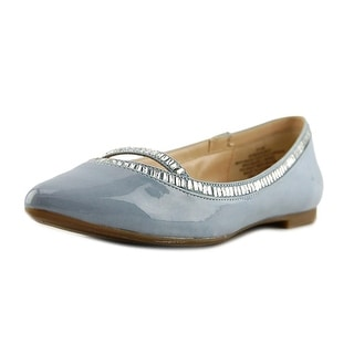Nine West My Mirage Women Pointed Toe Synthetic Blue Flats