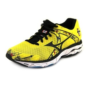 Mizuno Wave Inspire 10 Women W Round Toe Synthetic Yellow Running Shoe