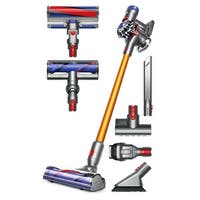 Dyson V8 Absolute Cordless HEPA Vacuum Cleaner + Fluffy Soft Roller and Direct Drive Cleaner Head + Mini Motorized Tool + More