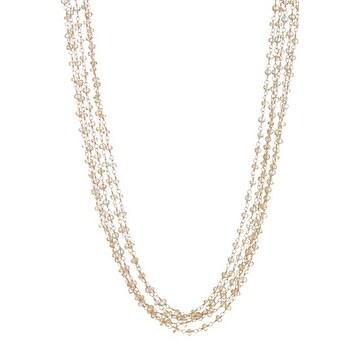 Citrine Multi Strand Necklace