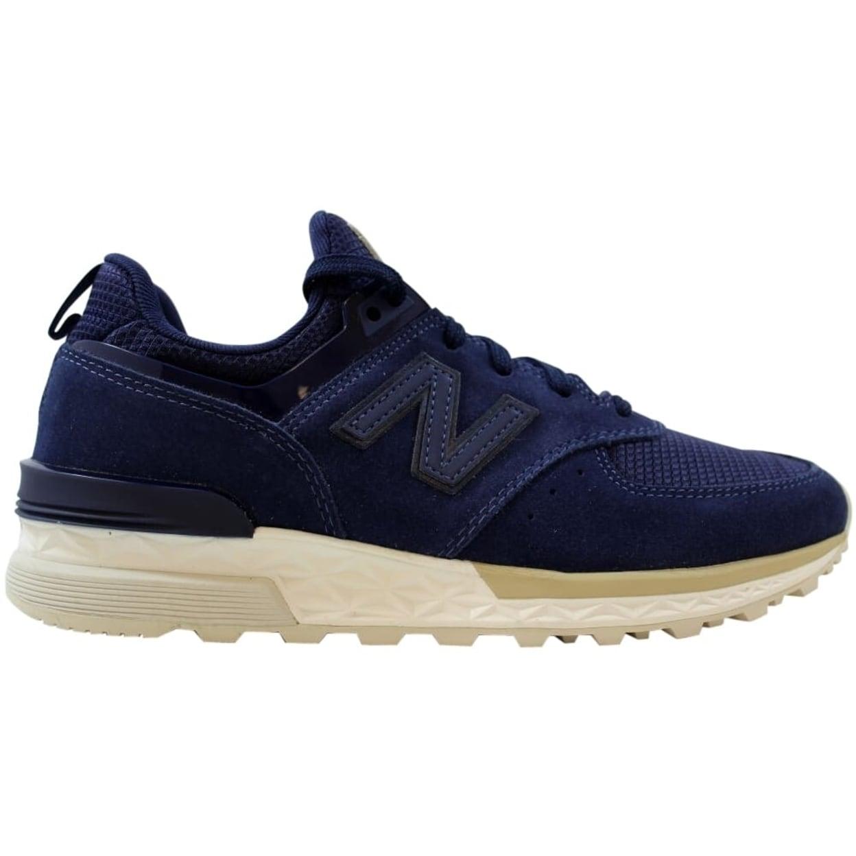 Shop New Balance Ms574 Navy/White
