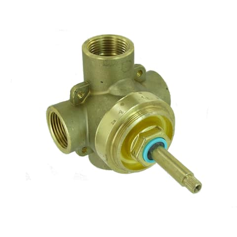 """Mirabelle MIR6103 Sophistispa 6-Way Diverter / Transfer Valve with 3/4"""" Connections"""