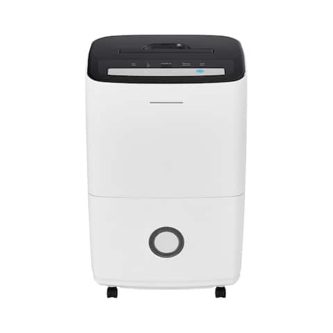 "Frigidaire FFAP7033T1 15"" Wide 70 Pint Energy Star Certified Freestanding Dehumidifier with Three Speeds - White"
