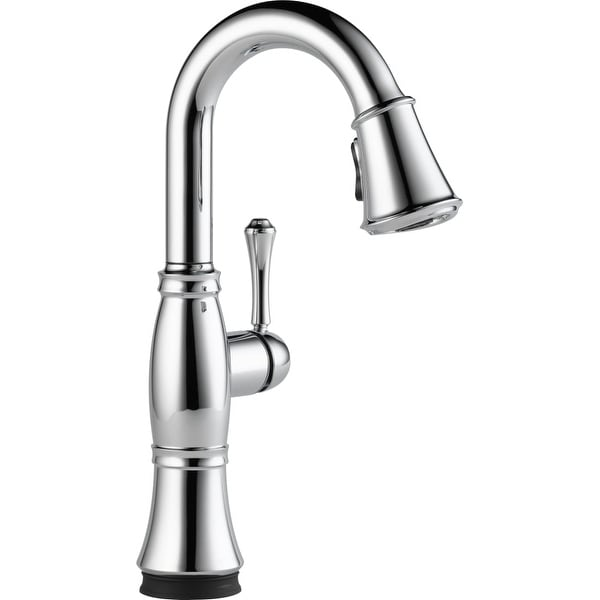 Delta 9997T-DST Cassidy Pull-Down Bar Faucet with Touch Activation and Magnetic Docking Spray Head - Includes Lifetime Warranty