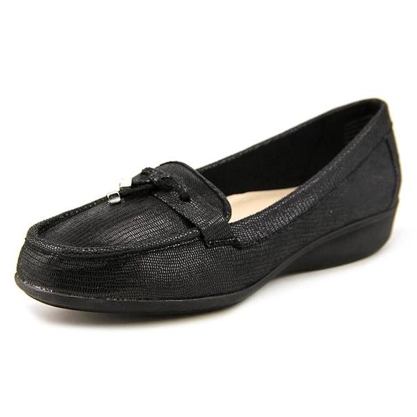 Karen Scott Womens Philiss Square Toe Loafers