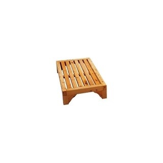 ALFI brand AB4409 Wooden Bathroom Stepping Stool - n/a