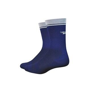 DeFeet Levitator Lite 5in Sock - Women's Navy, L