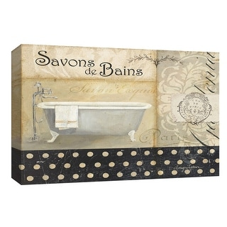 "PTM Images 9-153984  PTM Canvas Collection 8"" x 10"" - ""Savons de Bains II"" Giclee Tubs Art Print on Canvas"