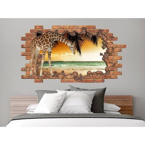 Giraffe Wall Decal Murals