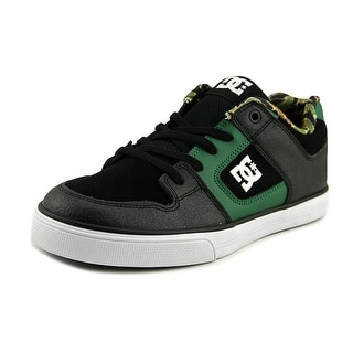 DC Shoes Pure Elastic Youth US 6 Black Skate Shoe