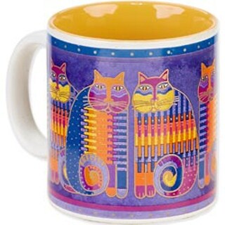 Rainbow Cat Cousins - Laurel Burch Artistic Mug Collection