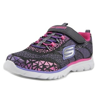 Skechers Nadia-Prism Pop Youth Synthetic Black Fashion Sneakers