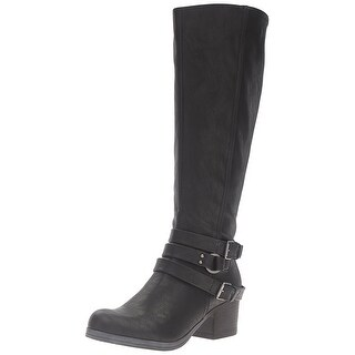 Carlos by Carlos Santana Womens Camdyn Closed Toe Knee High Fashion Boots