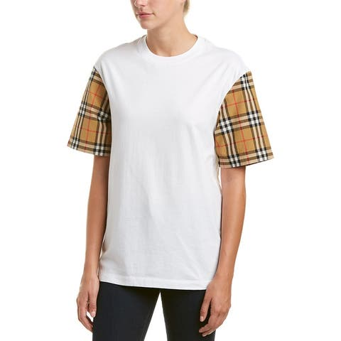 Burberry Vintage Check Oversized T-Shirt - L