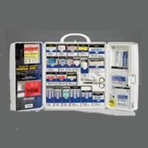 First Aid Only 1000-FAE-0103 Large First Aid Cabinet With Medications