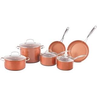 NuWave Duralon Ceramic Nonstick 10-Piece Forged Cookware Set