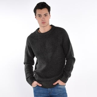 Teabreak Crew Neck Jumper - Charcoal
