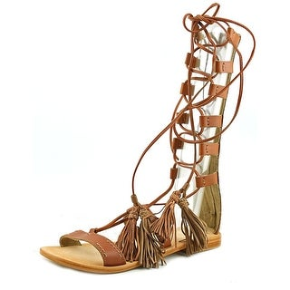 MTNG 94440 Open Toe Leather Gladiator Sandal