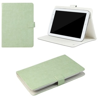 "JAVOedge Vintage Universal 7-8"" Book Case for the iPad Mini, Samsung Tab, Nexus 7, Nook HD (Light Green)"