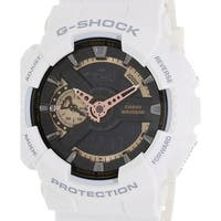 Casio Men's G-Shock  White Resin Quartz Sport Watch