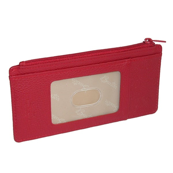 Buxton Women's Leather Thin Card Case Wallet - One size