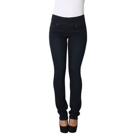 Lola Pull On Straight Jeans, Catherine-OBLU