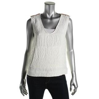 Zara Trafaluc Womens Sleeveless Pocket Pullover Top - XS