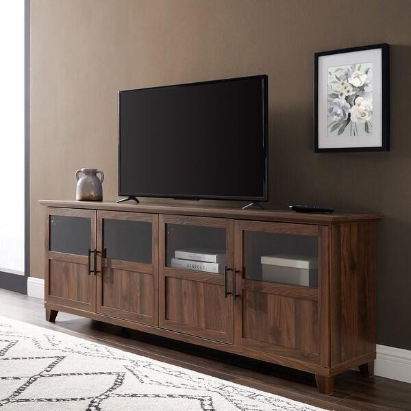 The Gray Barn 70-inch 4-Door Split Panel TV Console. Opens flyout.
