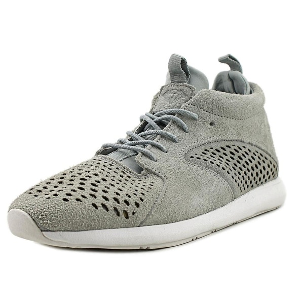 Diamond Supply Co Quest Mid Men Grey Sneakers Shoes