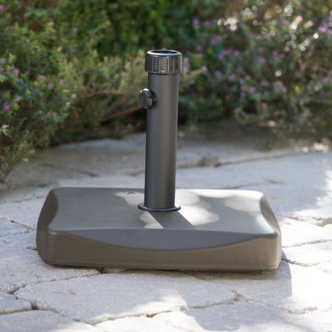 Square 55-pound Brown Umbrella Base by Christopher Knight Home