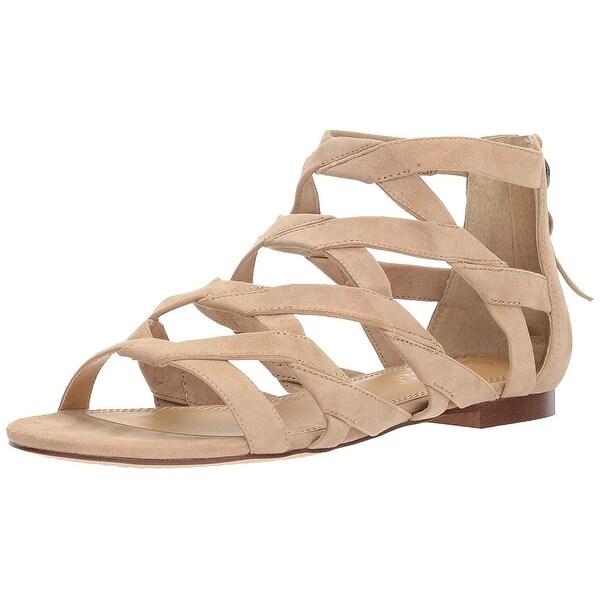 Splendid Womens Barrett Leather Open Toe Casual Strappy Sandals