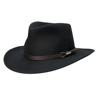 Shop Woolrich Crushable Wool Felt Outback Hat Free