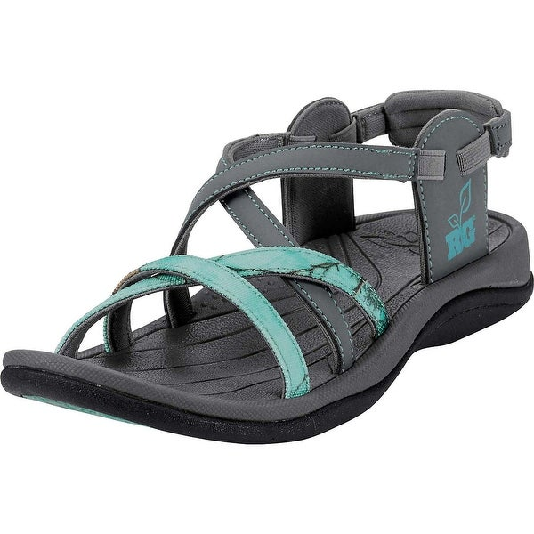Legendary Whitetails Ladies Tess Sandals - gray