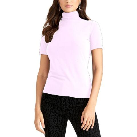 Rachel Rachel Roy Women's Cotton Turtleneck Top White Size Small