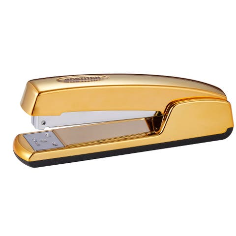 Bostitch Metallic Gold Stapler, All-Metal, 20 Sheets
