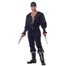 Blackheart the Pirate Mens Halloween Costume
