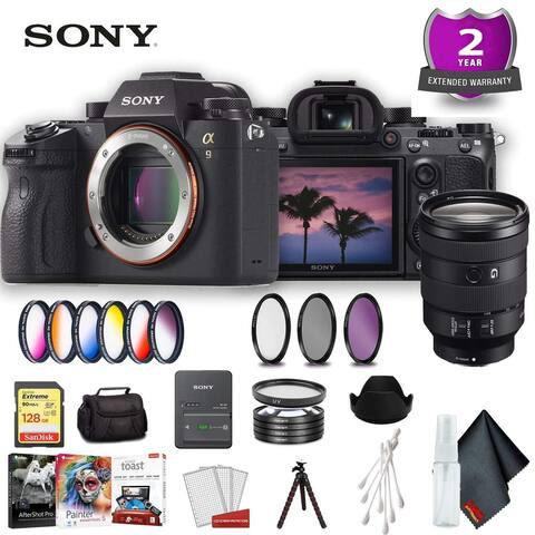 Sony Alpha a9 Mirrorless Standard Accessory Bundle w/ 24-105mm Lens