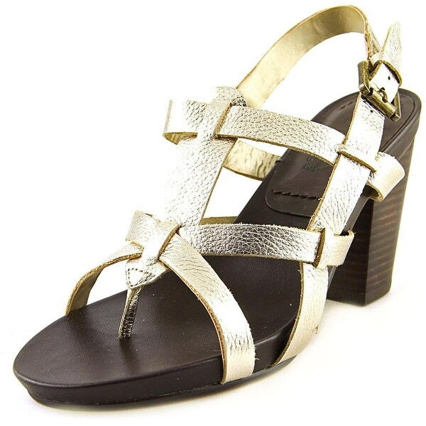 Mia Heritage Libra Women Soft Gold Sandals