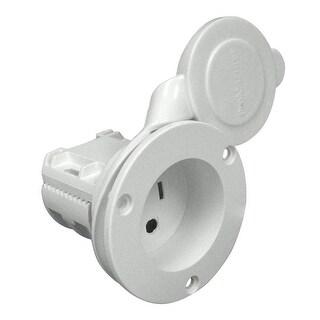 Promariner AC Plug Holder W/ Clamp White Mite/Sport/Tourn - 51200