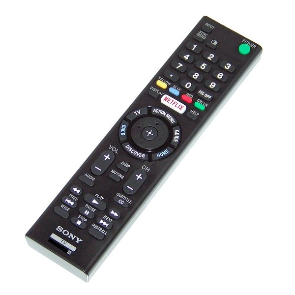 OEM Sony Remote Control Originally Shipped With: XBR55X810C, XBR-55X810C, XBR43X830C, XBR-43X830C