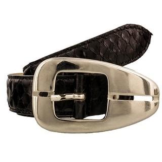 Renato Balestra NAJA NR Genuine Python Ladies Belt