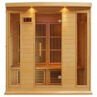 Maxxus MX-K406-01 Hemlock Wood 4-person Carbon Infrared Sauna