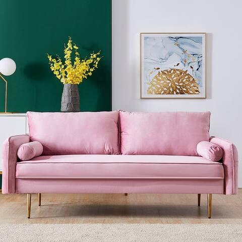 Living Room Furniture Modern Velvet/Linen Sofa