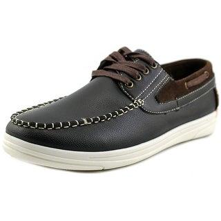 Alessandro Monelli Andrew Men Moc Toe Synthetic Boat Shoe