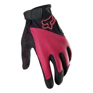 Fox 2015 Women's Reflex Gel Full Finger MTB & BMX Cycling Gloves - 12682 - Black