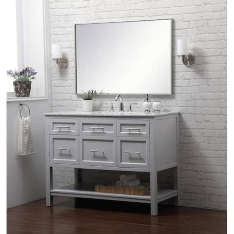 """46"""" Single Bathroom Vanity Set"""