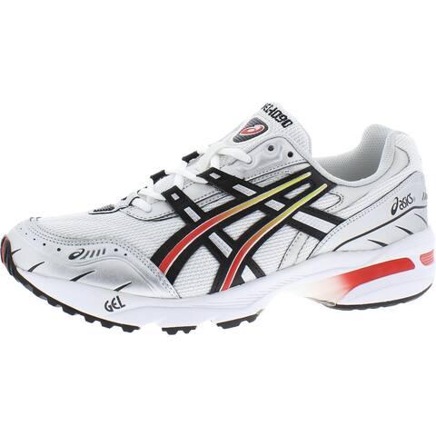 Asics Mens Gel-1090 Walking Shoes Fitness Workout - White/Black