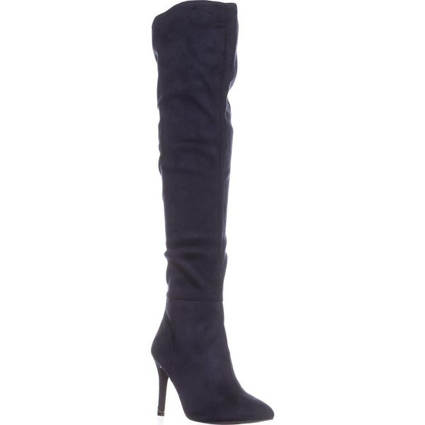 Call It Spring Rosenman Over The Knee Winter Boots, Navy