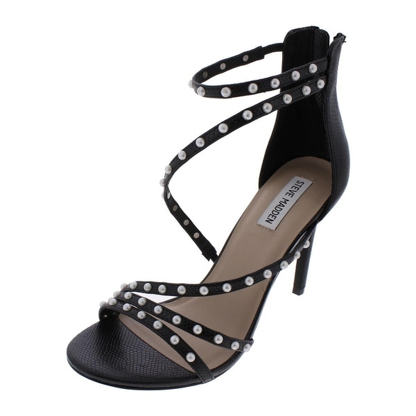 3d39b61e504 Shop Steve Madden Womens Meg Dress Sandals Open Toe Strappy - Free ...